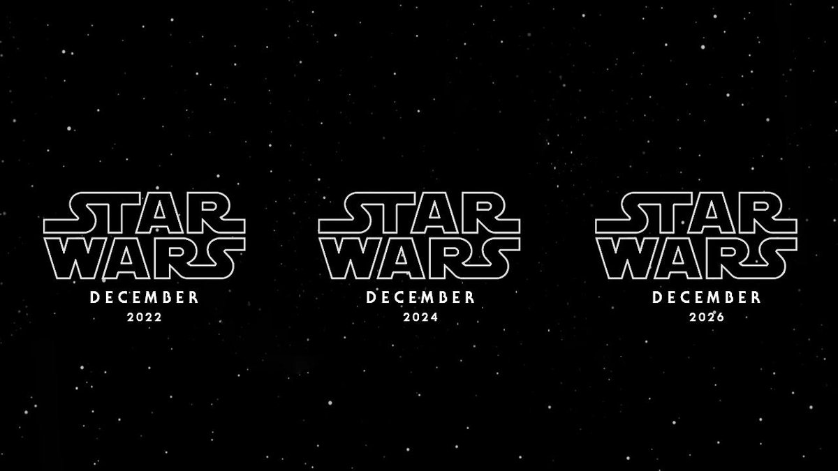 Disney confirms three new Star Wars movies starting in 2022