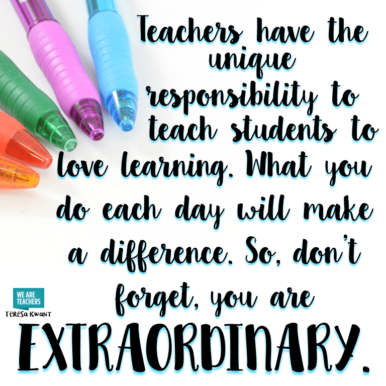 BCPS Science Teachers are EXTRAORDINARY! You are appreciated today and everyday!