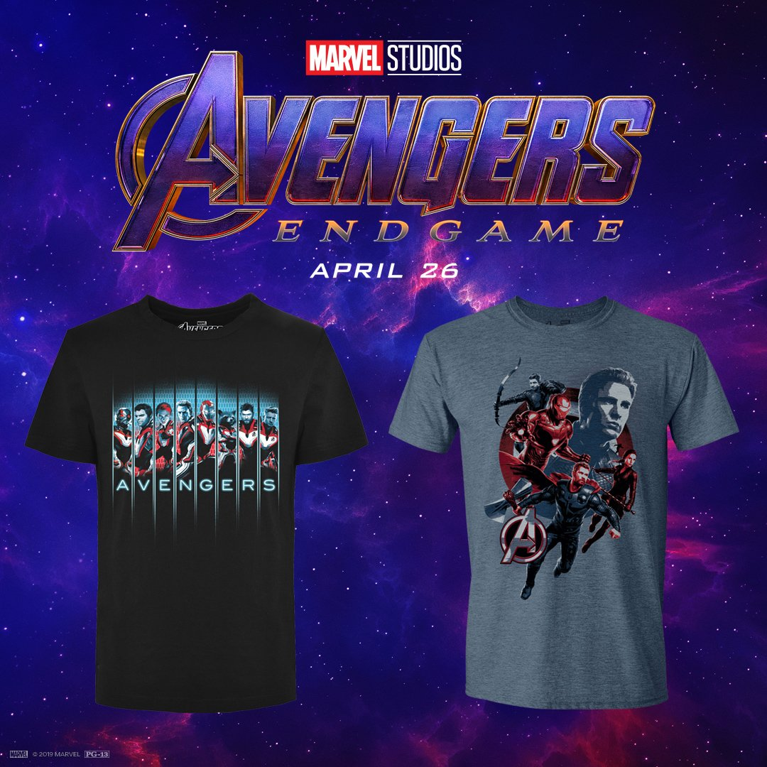 🚨LAST CHANCE 🚨  RETWEET  or COMMENT for your chance to win one of these #AvengersEndgame t-shirts.   http://bit.ly/2WizzaU