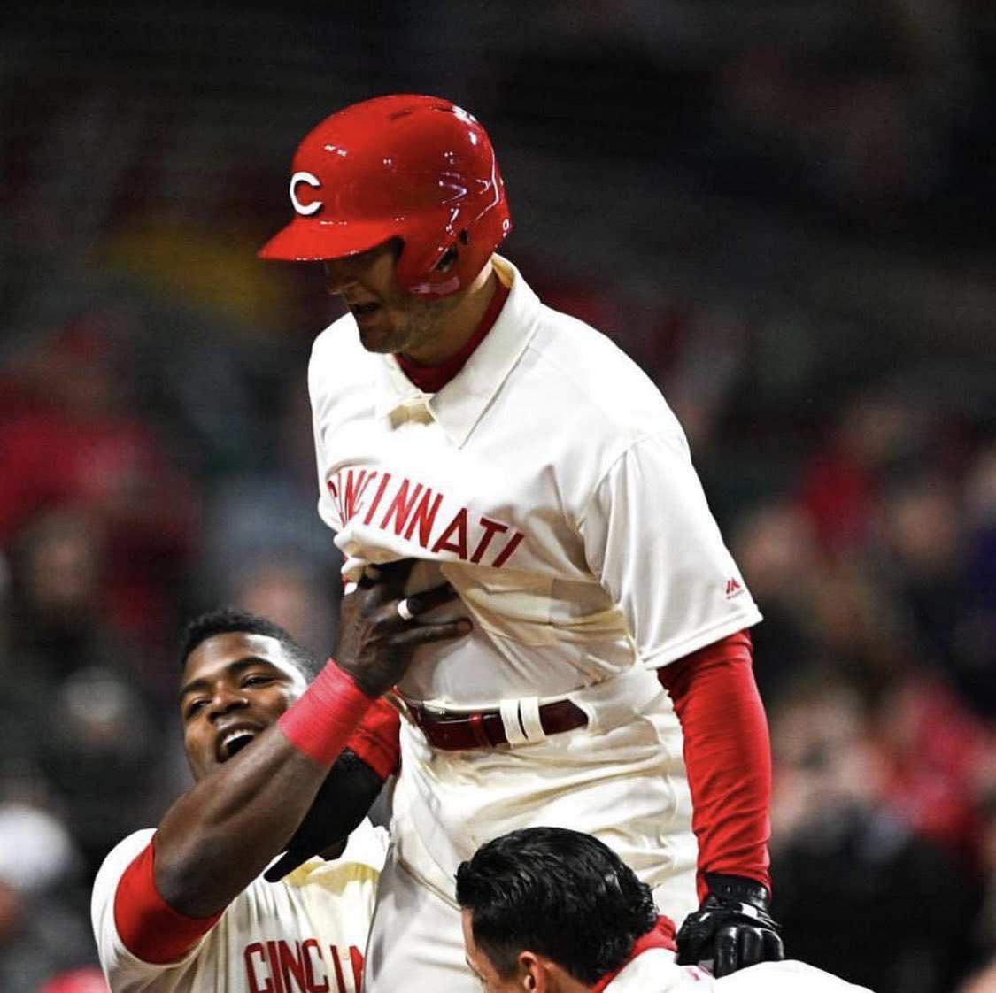 First home run game for my teammate @LilSenzii happy to having you in the show!