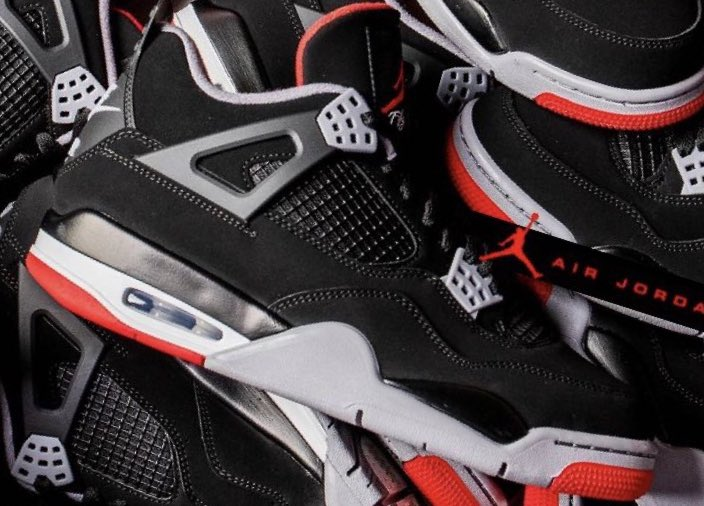 7f683703168459 Jordan Retro IV  Bred  Available Now! Grade school still available!! GS  Sizes - http   bit.ly 2DE9WtR PS Sizes - http   bit.ly 2IQj0jf  Infant Toddler ...