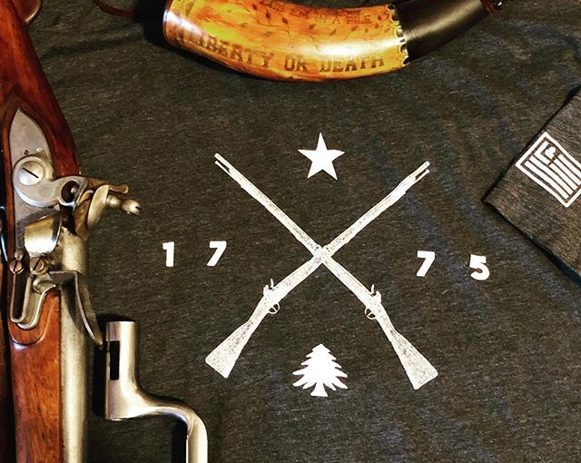 Thanks @libertyco1776 for the awesome militia shirt! Everyone go check out there store #revolutionarywar #musket #reenactment #patriots #libertyandco https://t.co/WDju76T2B1
