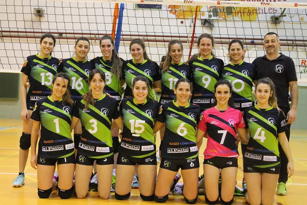 Foto cedida por Voleibol Rivas