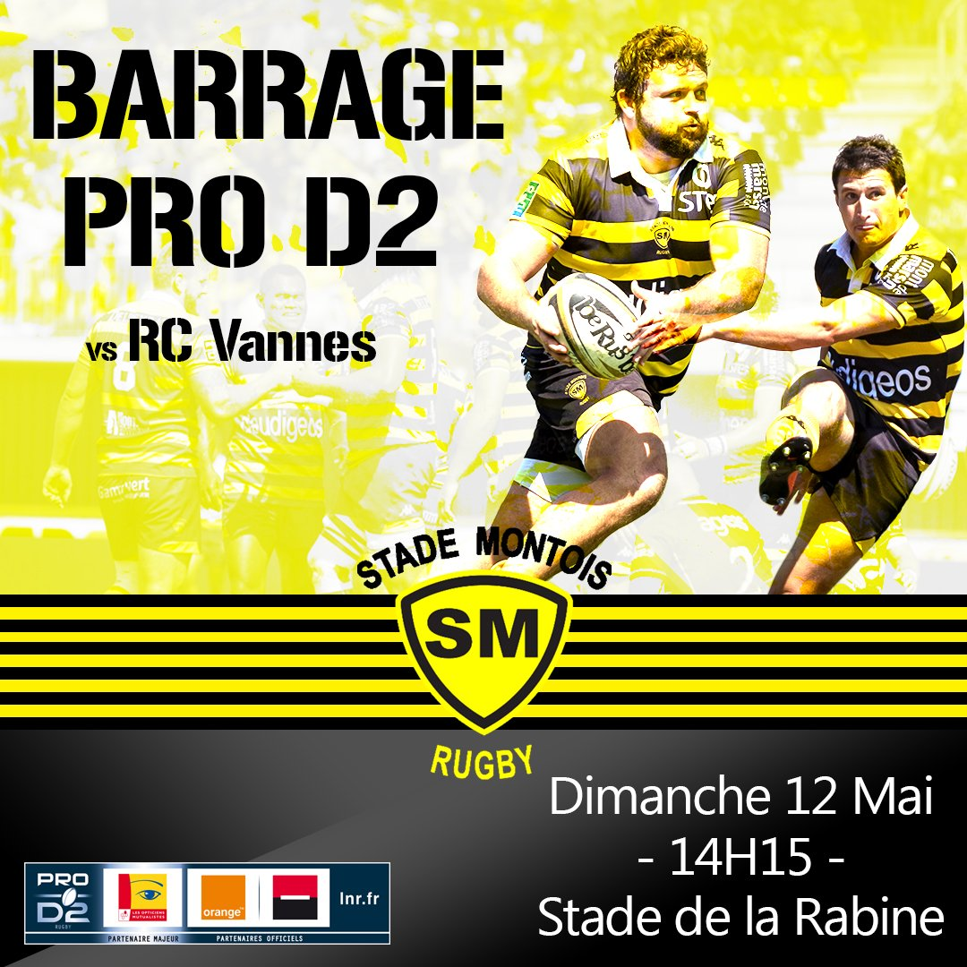 Stade Montois Rugby's photo on #ProD2
