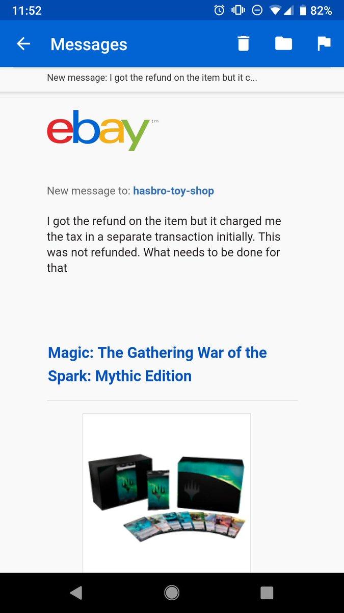war of spark mythic edition refund