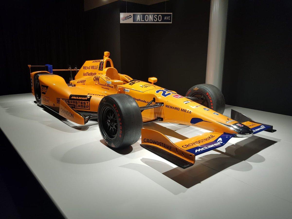 Que pasada de museo!! 😍 Deseando volver y ver todos los nuevos trofeos y coches que consigas 👏🏼 @CircuitoMuseoFA @alo_oficial