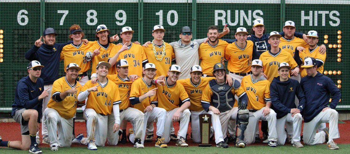 a5da0b7cfa4 The Mountaineers are New Penn regional champions! WVU just clinched the  first World Series birth in program history!!! WS to begin May 17th in  Pittsburg