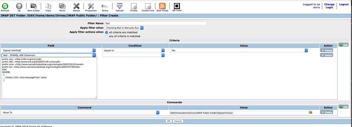Imap4 commands