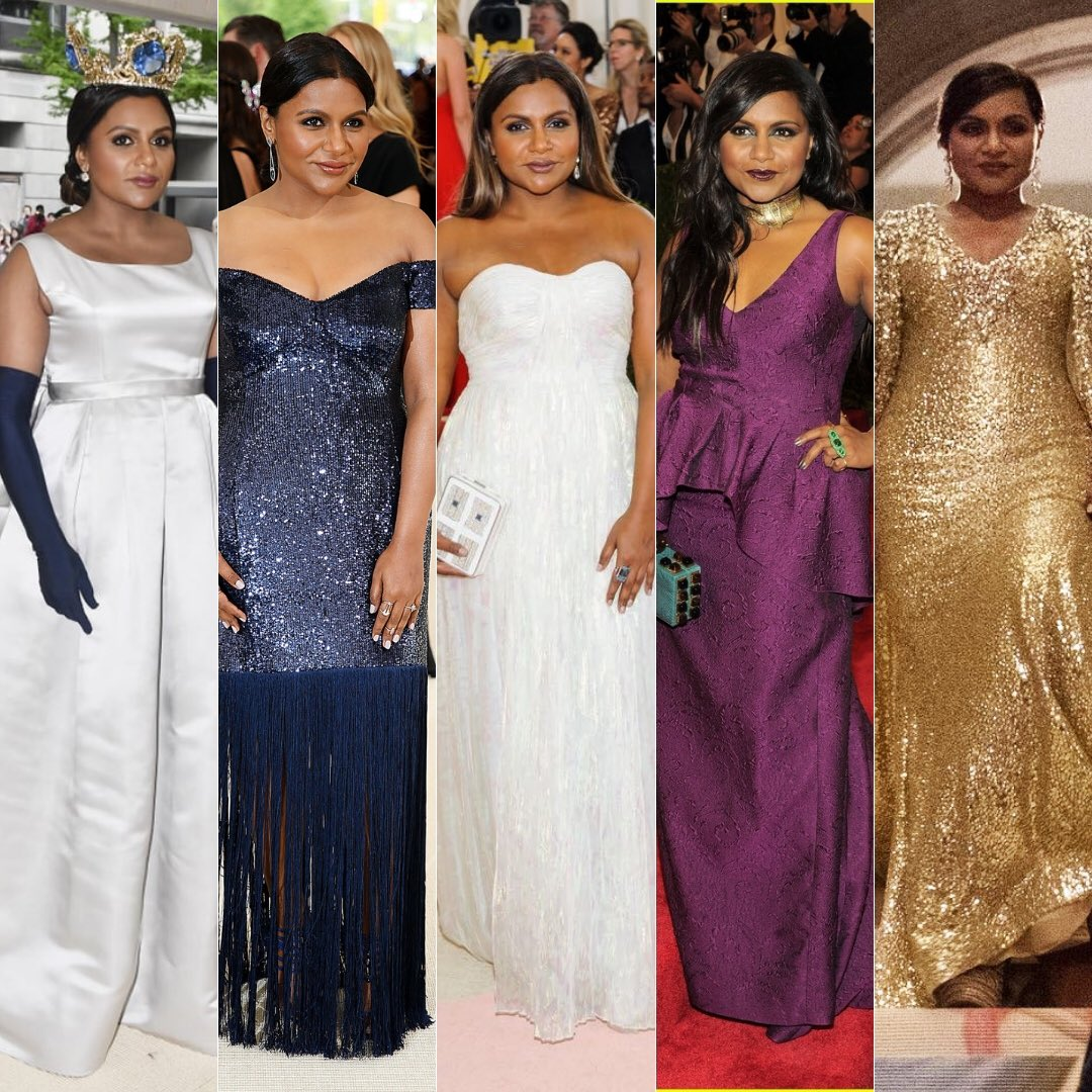 Mindy Kaling On Twitter Throwback To All Of My Metgala Lewks Every Single One Oceans8