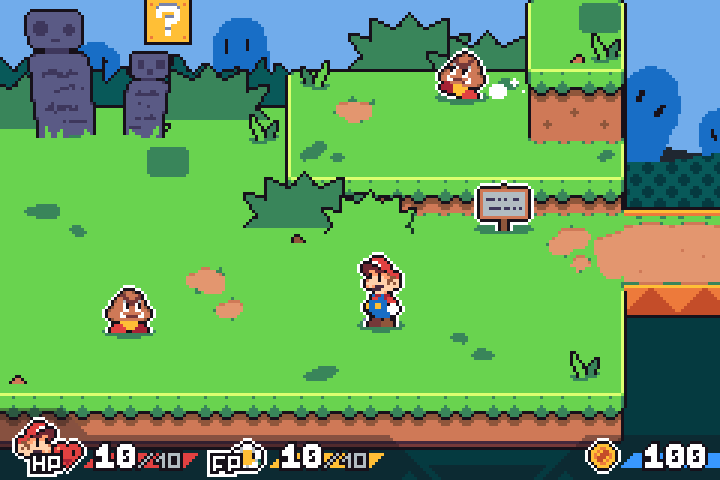 make your own paper mario game