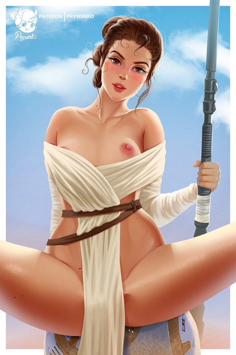 Wars nackt star ray Rey