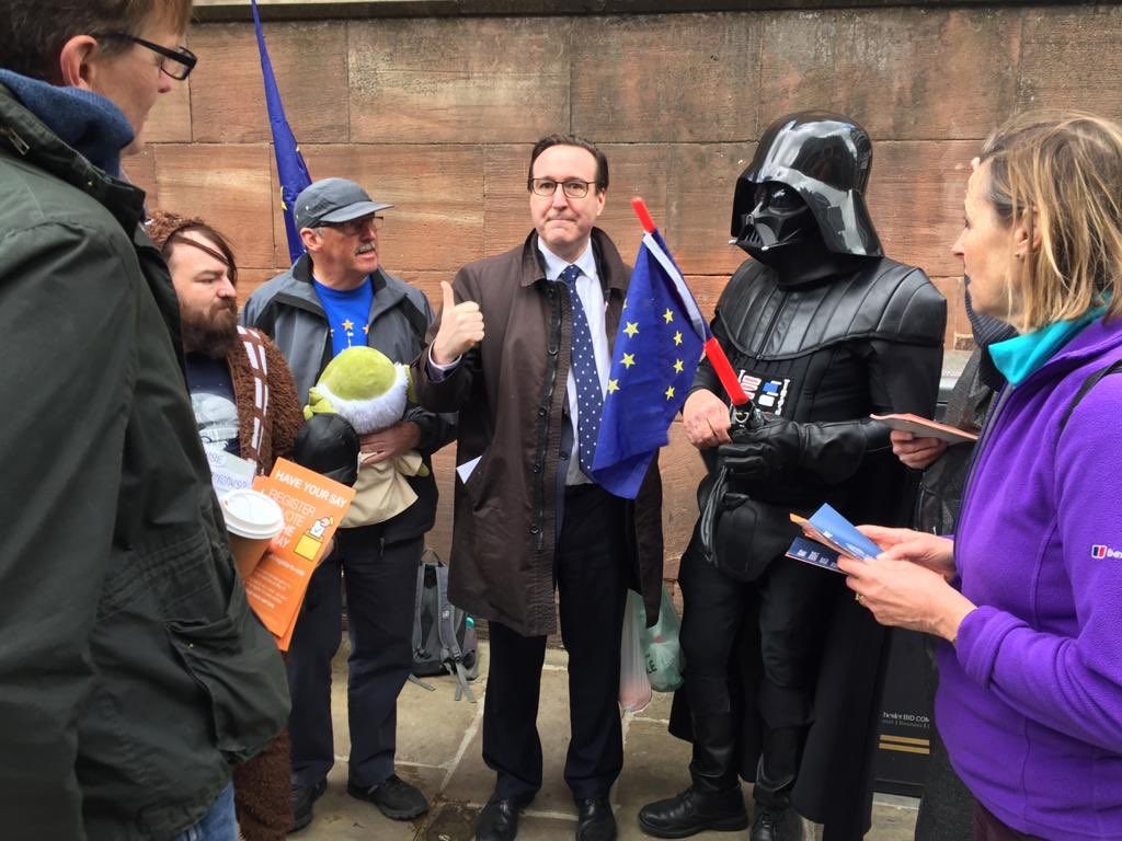 Chester for Europe with Chris Matheson MP