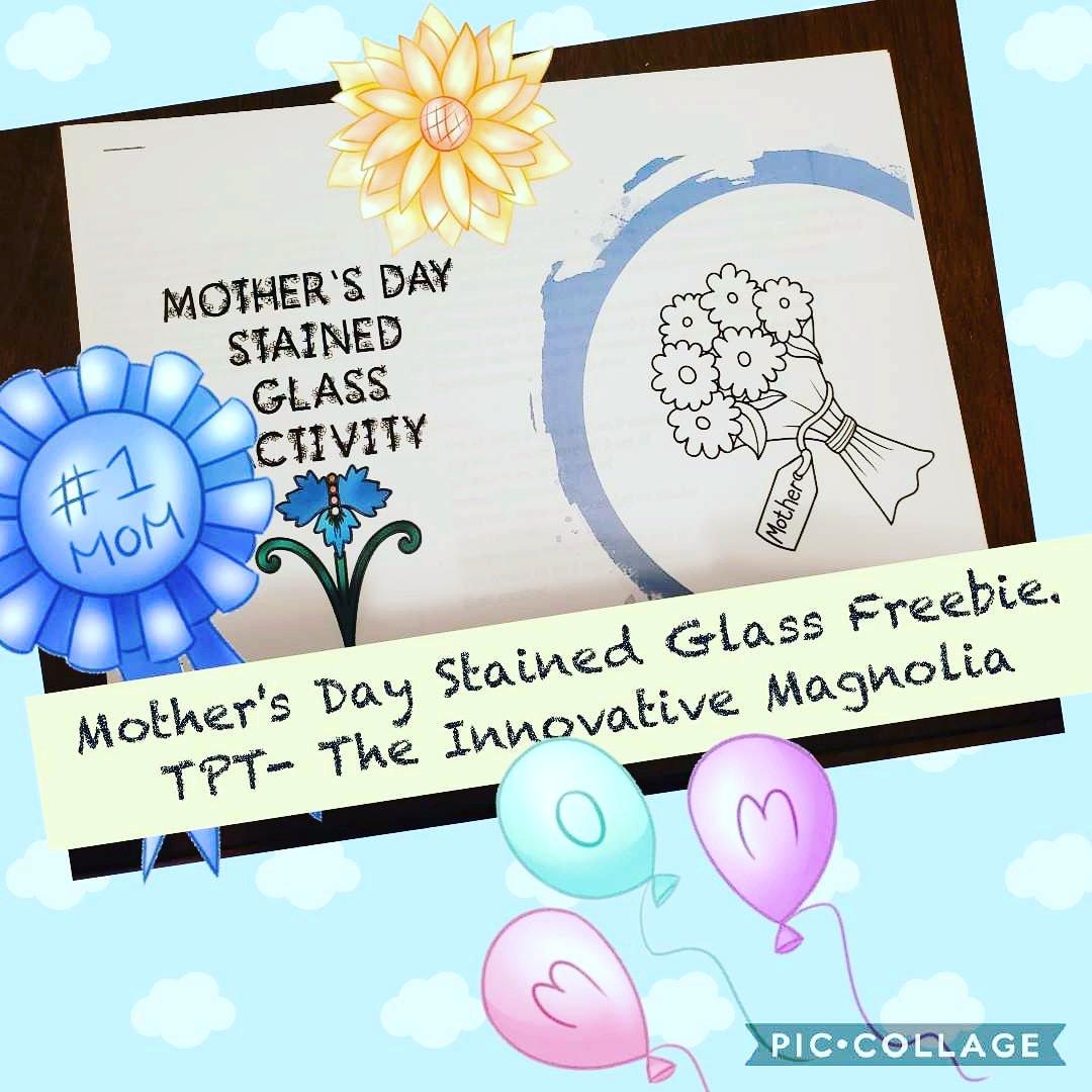 New Mother's Day TPT Freebie! #teachersfollowteachers #teacherspayteachers