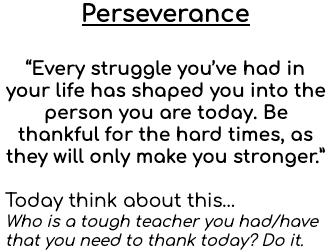 #TeacherAppreciationWeek #ThankATeacher #BeACardinal #PutAMissionIntoMotion #Persevere