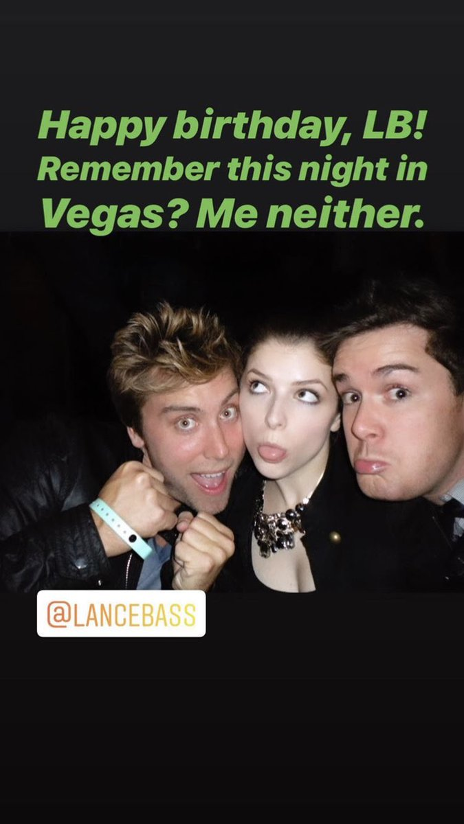 | A throwback featuring Anna Kendrick on alexmartinetti's instagram story. <br>http://pic.twitter.com/L94xgjVax3