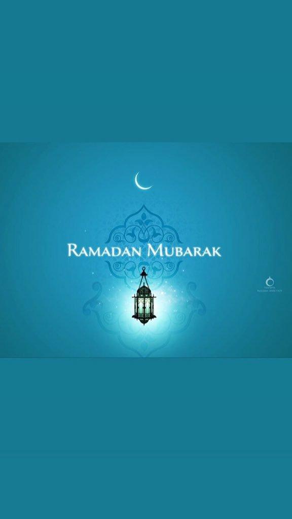 Ramadan mubarak à tout le monde https://t.co/sxX7BIBvo4