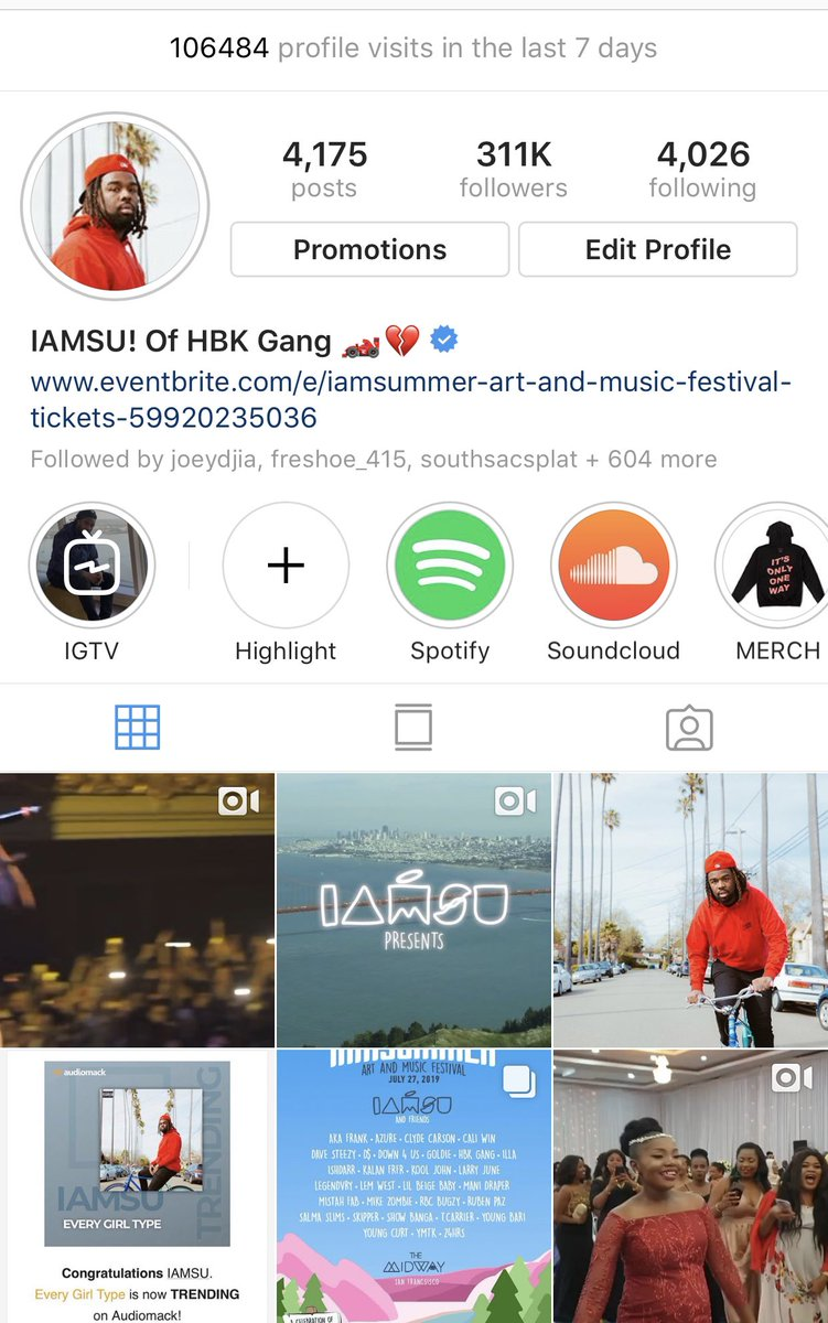 IAMSU! of HBK Gang 🏎💔 on Twitter: