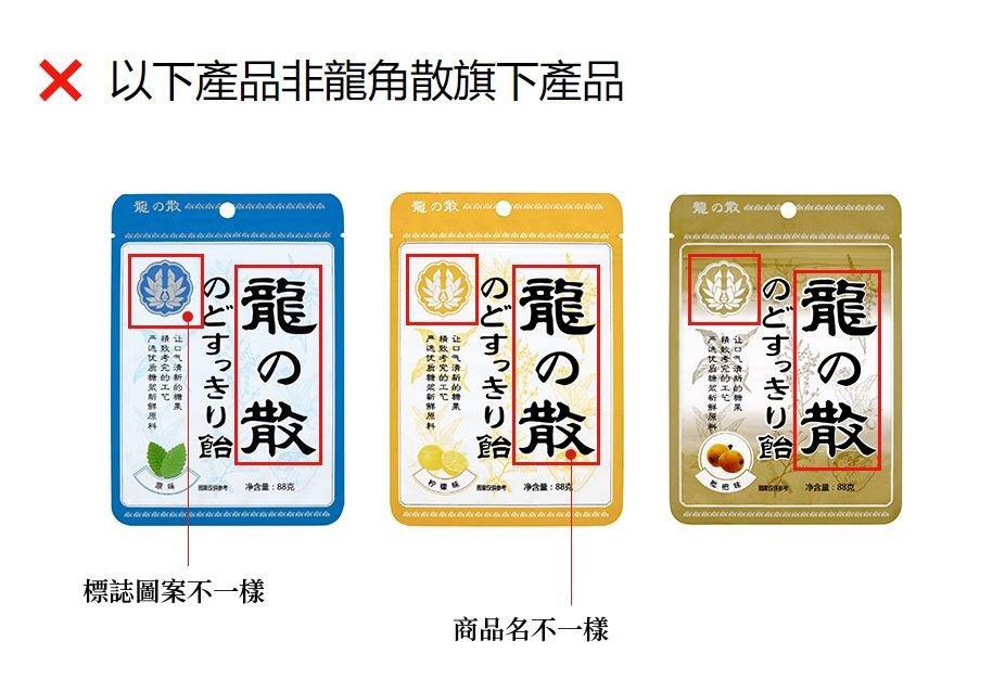 龍角散のどすっきり飴のニセモノ登場。「龍の散」。日本でも売っています。要注意。 #中国