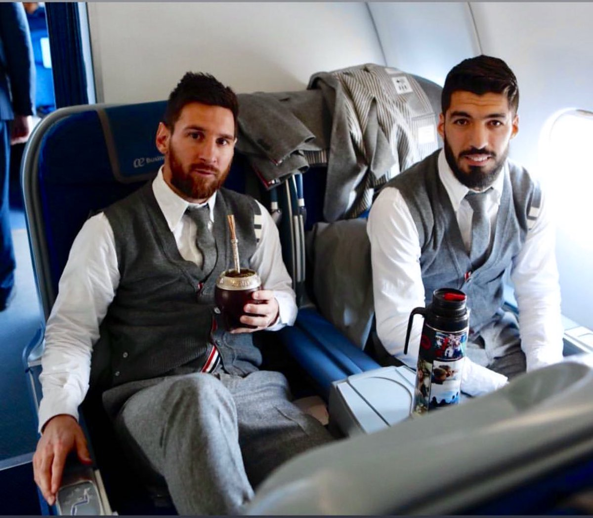 Barca Universal On Twitter Messi And Suarez On Their Way To Liverpool