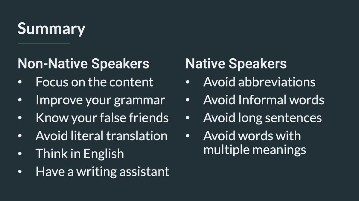 """Amadou Sall on Twitter: """"📣Technical Writing for Non-Native"""