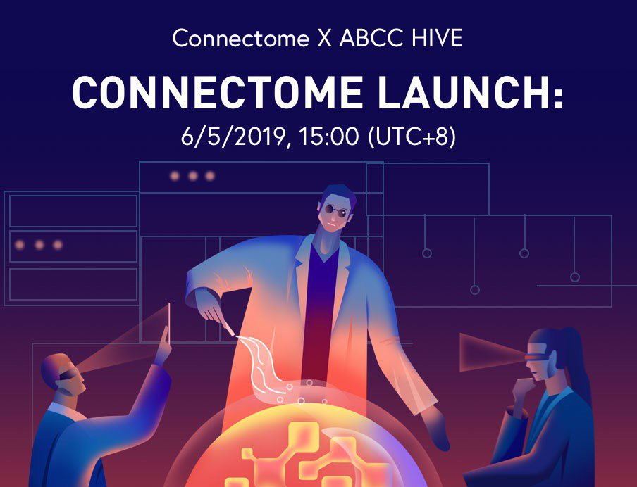 1 more hour to the IEO launch of Connectome! Please be reminded that minimum purchase is 60 USDT, with 1 CNTM= $0.015. Don't miss out on this IEO!  Purchase CNTM 👉 https://abcc.com/en/active/ieo/cntm…  All you need to know about Connectome👉 https://blog.abcc.com/connecting-real-world-and-virtual-agents/…