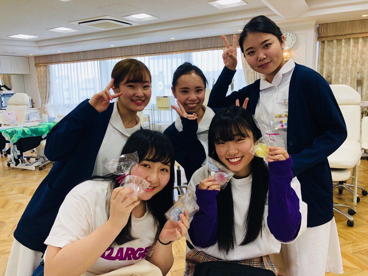 #東京ビューティーアート #専門学校 では #GW も #オープンキャンパス を開催! 今日の #エステ 体験ではアロマジュエリー?石鹸作り、#美容師 体験では高級ハサミ✂︎で切りっぱなしボブに挑戦など楽しい体験がたくさん? #美容 の仕事を目指すなら #資格 #就職 に強いBxart!