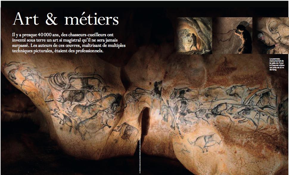 Un plaisir d'avoir contribué au très beau numéro des @CahiersSV sur les Origines de l'art avec un article sur les secrets des peintres paléolithiques, de #Chauvet à #Lascaux en passant par #Altamira, entre autres chefs-d'oeuvre... #Art #Préhistoire