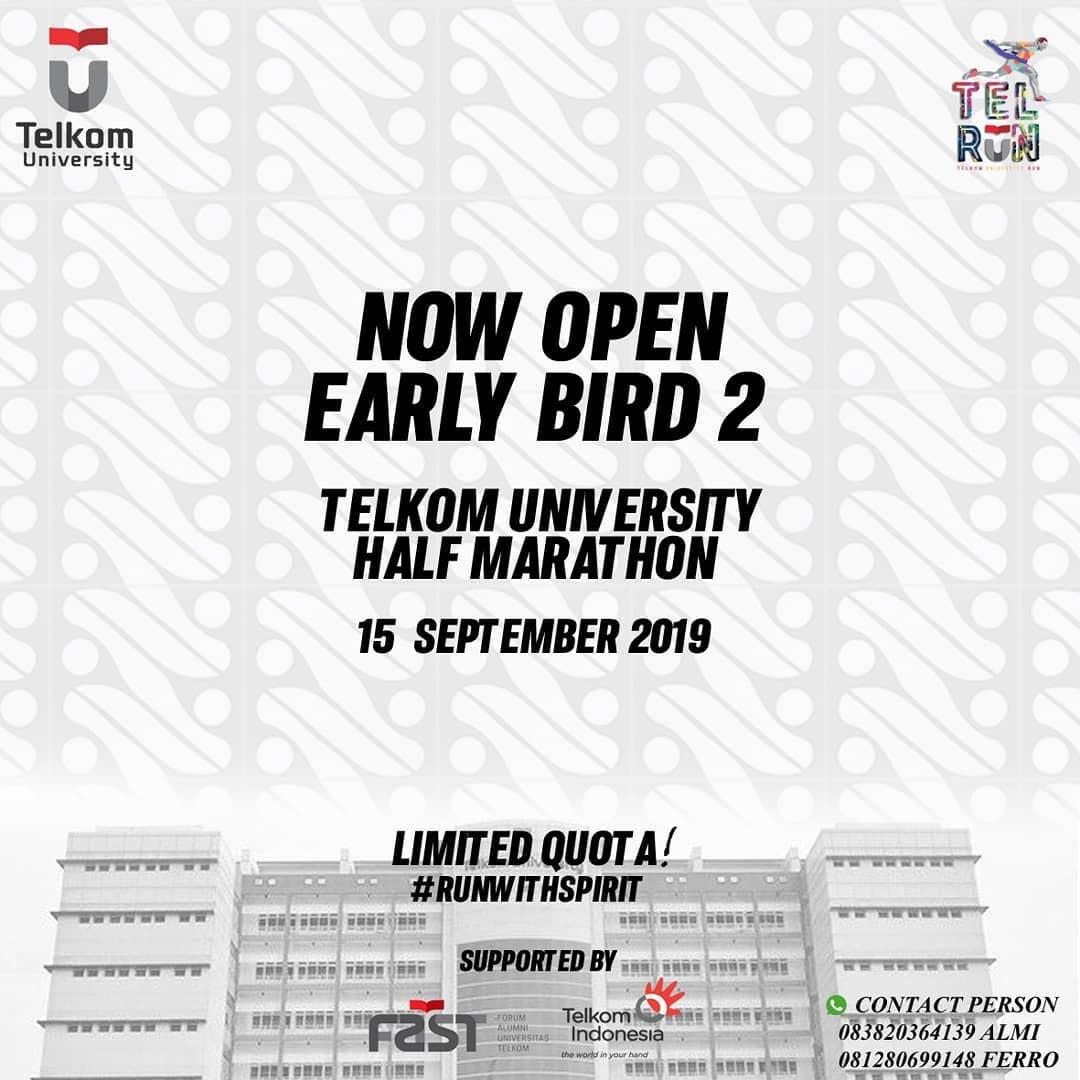 Telkom University Half Marathon • 2019