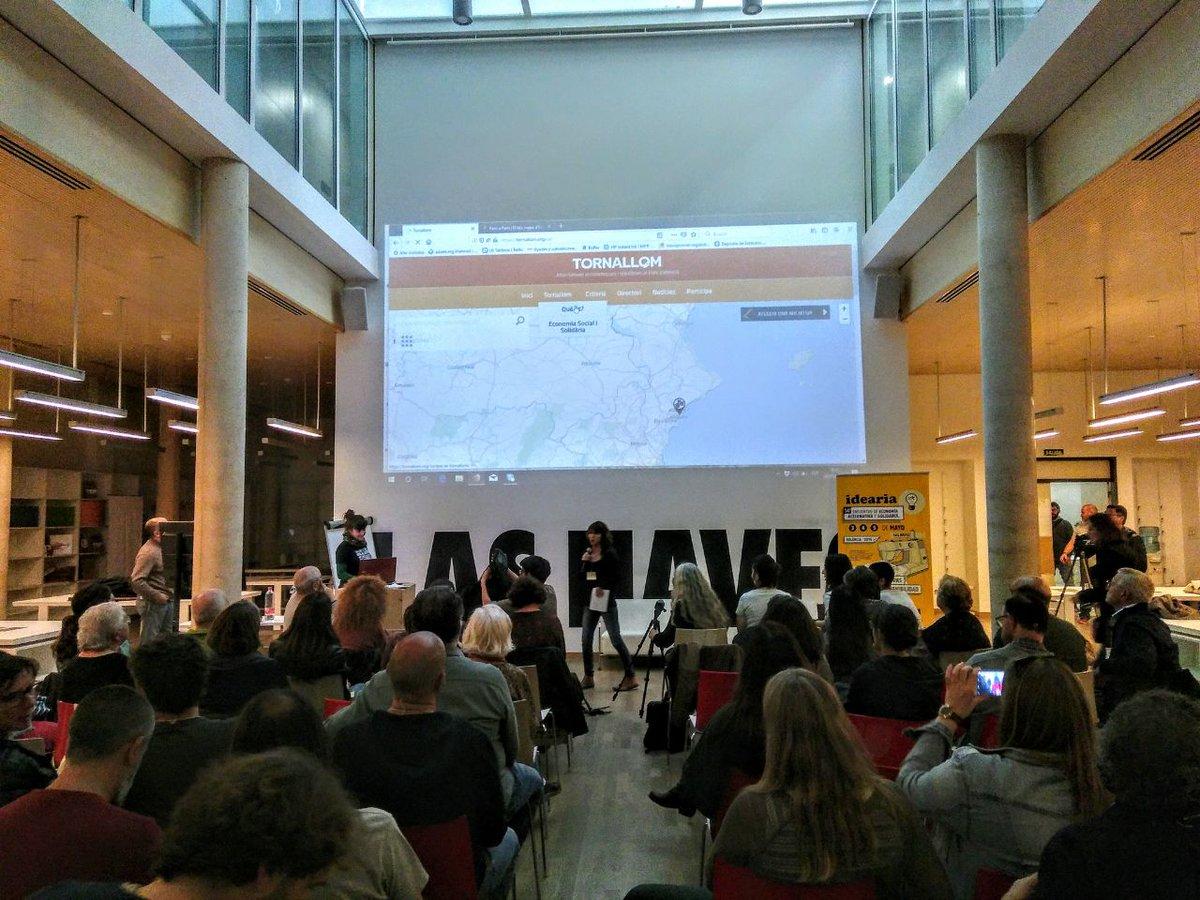 🔹 Aquest cap de setmana es va presentar el #tornallom!  🔸 És un mapa col·laboratiu com el de #pamApam però al #PaísValencià.  Molt contentes de veure com neix aquesta iniciativa! https://t.co/PVl6WT6A4N