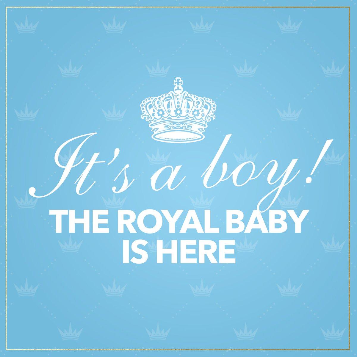 【速報】王子誕生! ハリー王子&メーガン妃