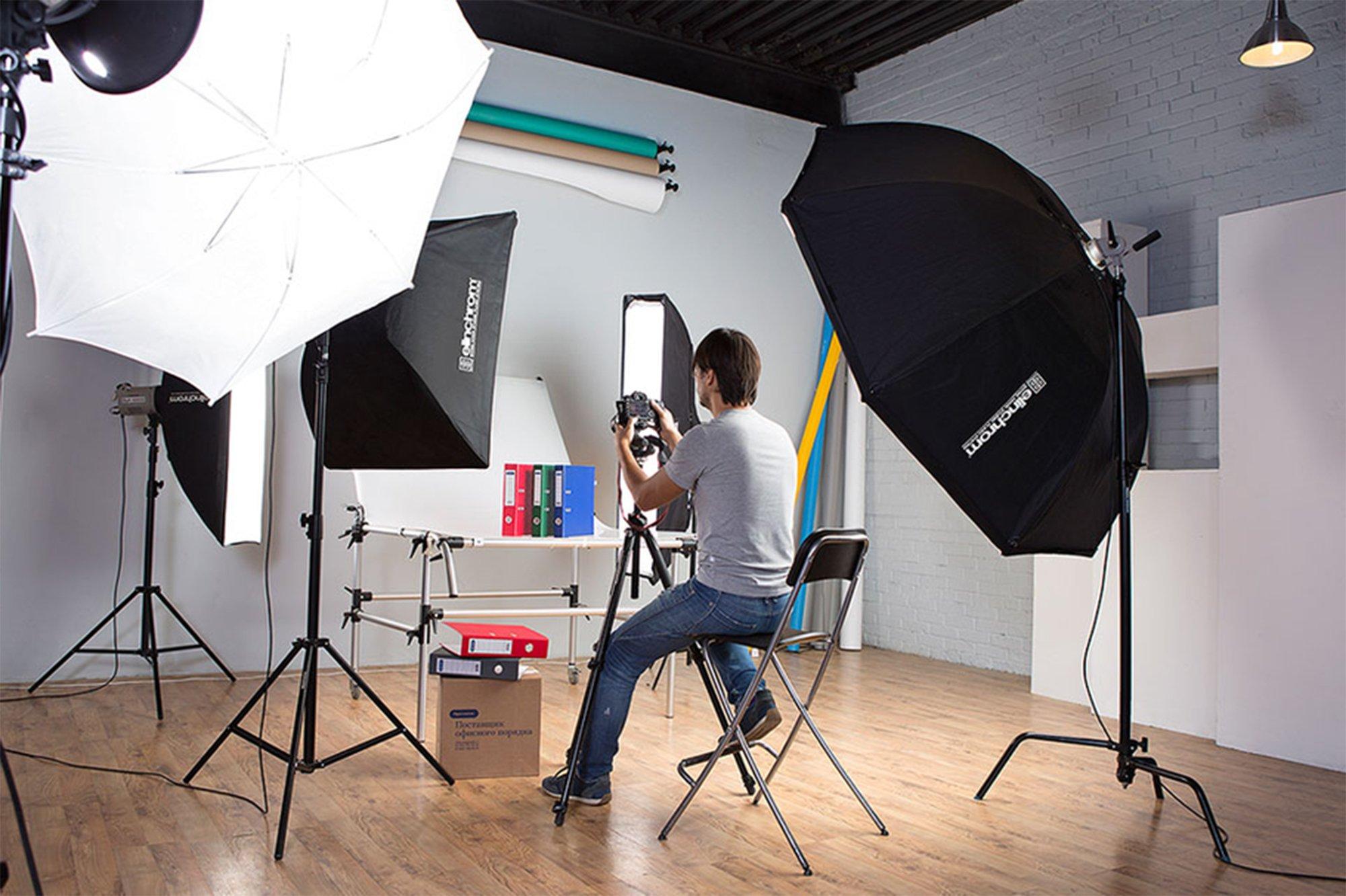 Как сделать дома мини фотостудию
