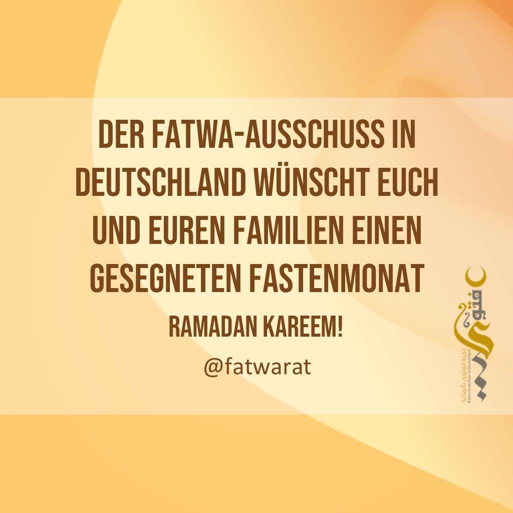 wann ist ramadan in deutschland 2019
