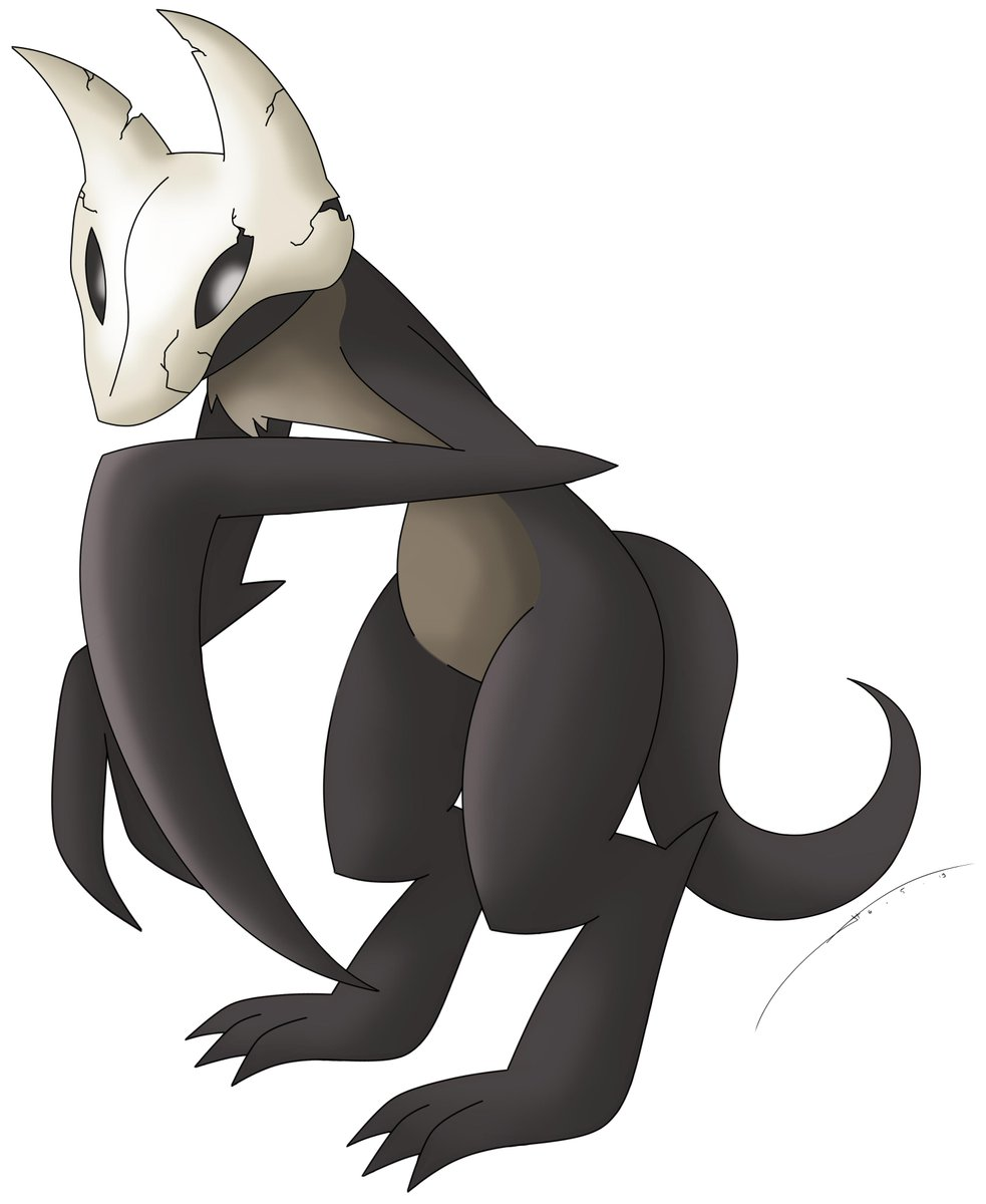 My newest and probably the darkest fakemon I have created. It is a mythical pokemon based on the Grim Reaper and it has a new ability ( Pure Hatred ) and own signature move ( Spirit Reaper ).   Read the info here:  https://www.deviantart.com/darkrailady/art/Spireaper-The-Grim-Fakemon-796628560?ga_submit_new=10%3A1557143165…  #fakemon #fakepokemon