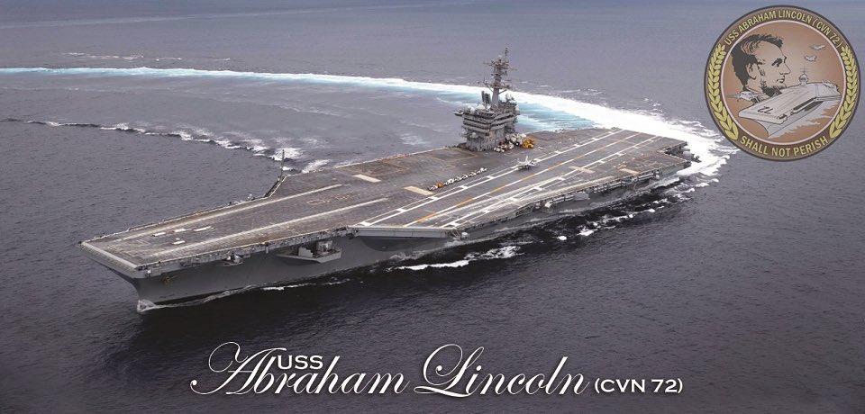 المسابقه الرمضانيه : مجموعه حاملة الطائرات (USS Abraham Lincoln (CVN 72 D54iZoSXkAICkrr
