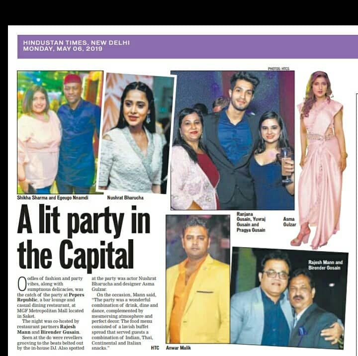 Aida Couture On Twitter Our Grand Store Launch Aida Couture By Bollywood Designer Asma Gulzar Coverage In Today S Hindustan Times New Delhi Aidacouture Asmagulzar Designer Fashiondesigner Delhi Collection Delhilife Newstore Launch Fashion