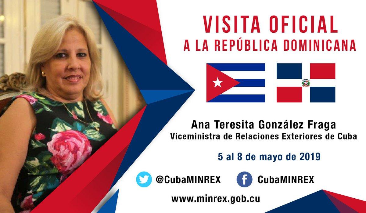 Cancillerías de Cuba y República Dominicana evalúan temas de interés común