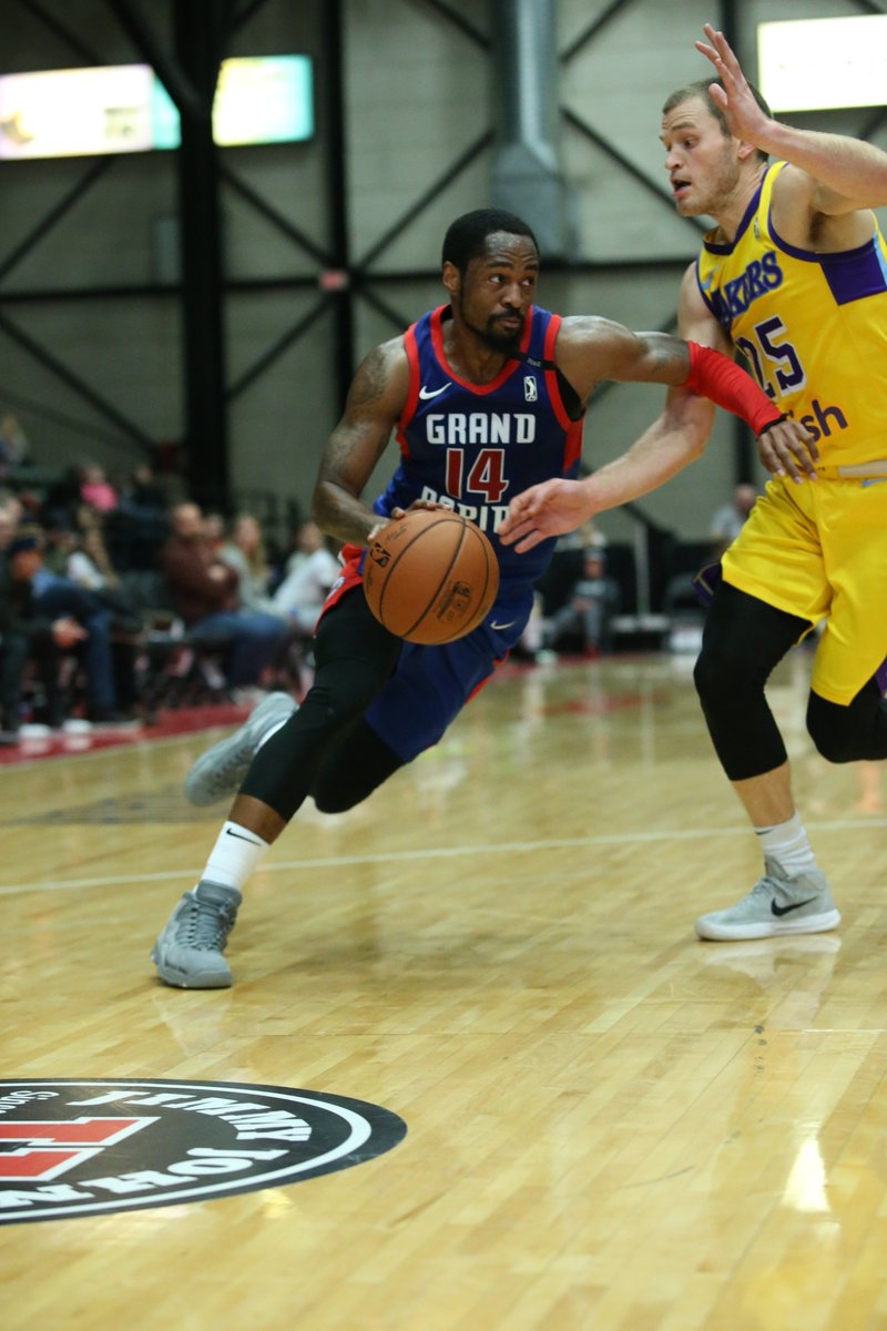 #2WayPlayer Kalin Lucas (@Kjay24k) was impressive all season long with the @grdrive, and luckily we had the 📸 there to capture it!   @MSU_Basketball ↗️ @grdrive ↔️ @DetroitPistons