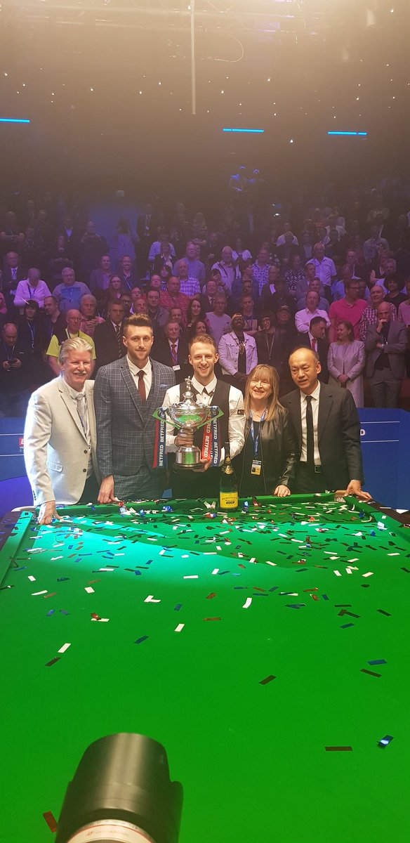 And the new world champion...#bbcsnooker