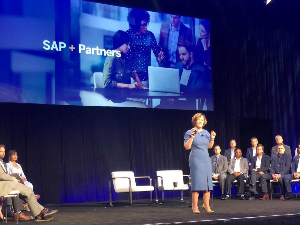 Next-Gen Partnering enables partners to work us in helping our joint customers become intelligent enterprises - delighted to kick off the #SAPPartnerSummit at #SAPPHIRENOW with @randizuckerberg, @KarlFahrbach, @ArlenShenkman and a cohort of partners on-stage with us.