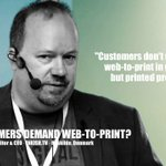 """Image for the Tweet beginning: """"Do your customers demand web-to-print?"""""""