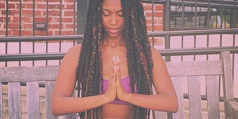 Yoga in the Museum is always a special treat with yogi Ayodele Murphy! We are so excited to have her here today at NOON for an hour long session of self-care. #SpelMuse #SpelSelfCare #SpelYoga #YogaInTheMuseum #MeditativeMonday