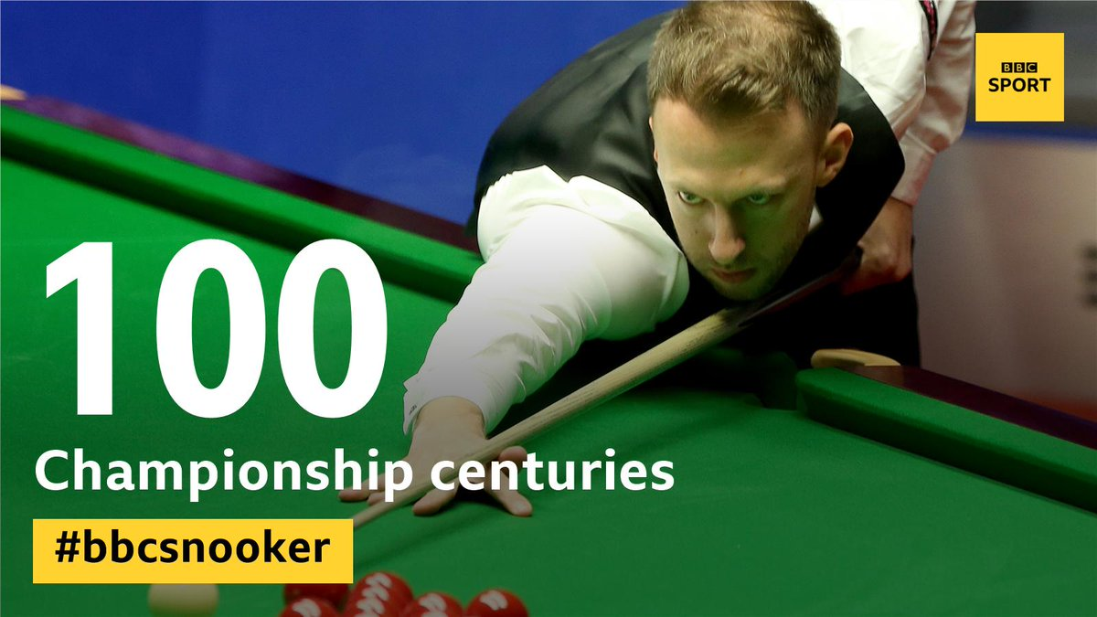 That's a record!We have now seen a century of centuries at the 2019 World Championship.#bbcsnooker