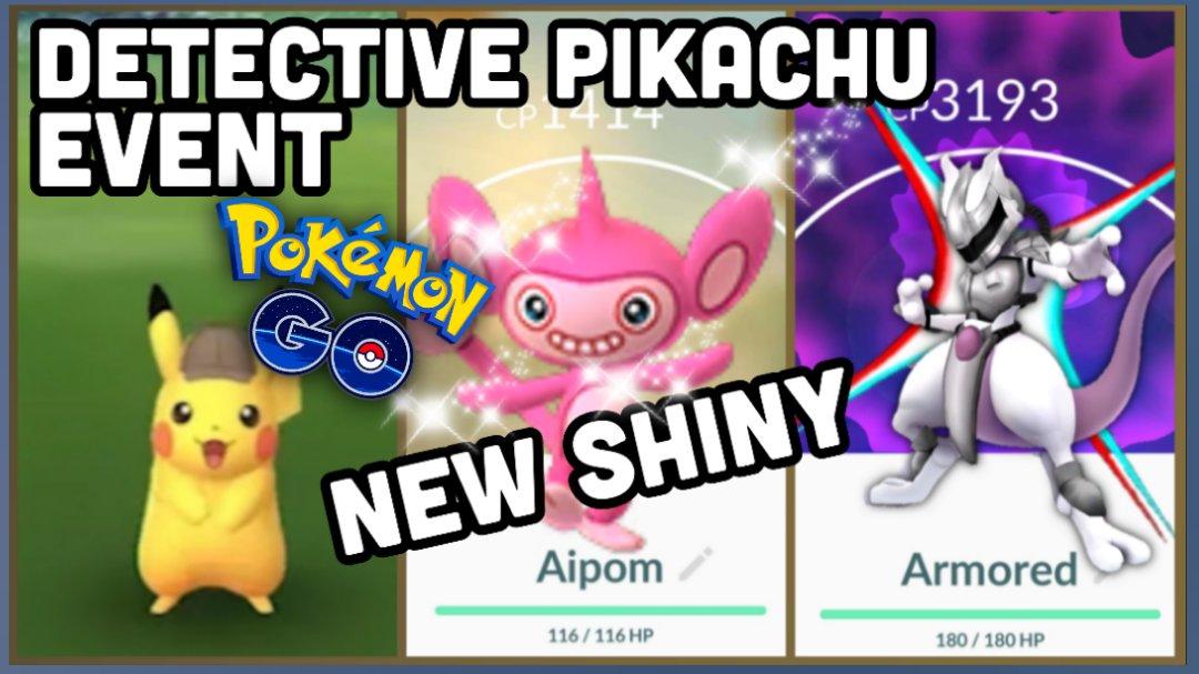 Poke Ak On Twitter Detective Pikachu Event In Pokemon Go New