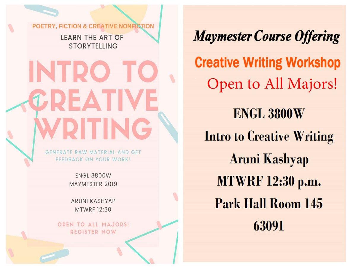 uga intro to creative writing