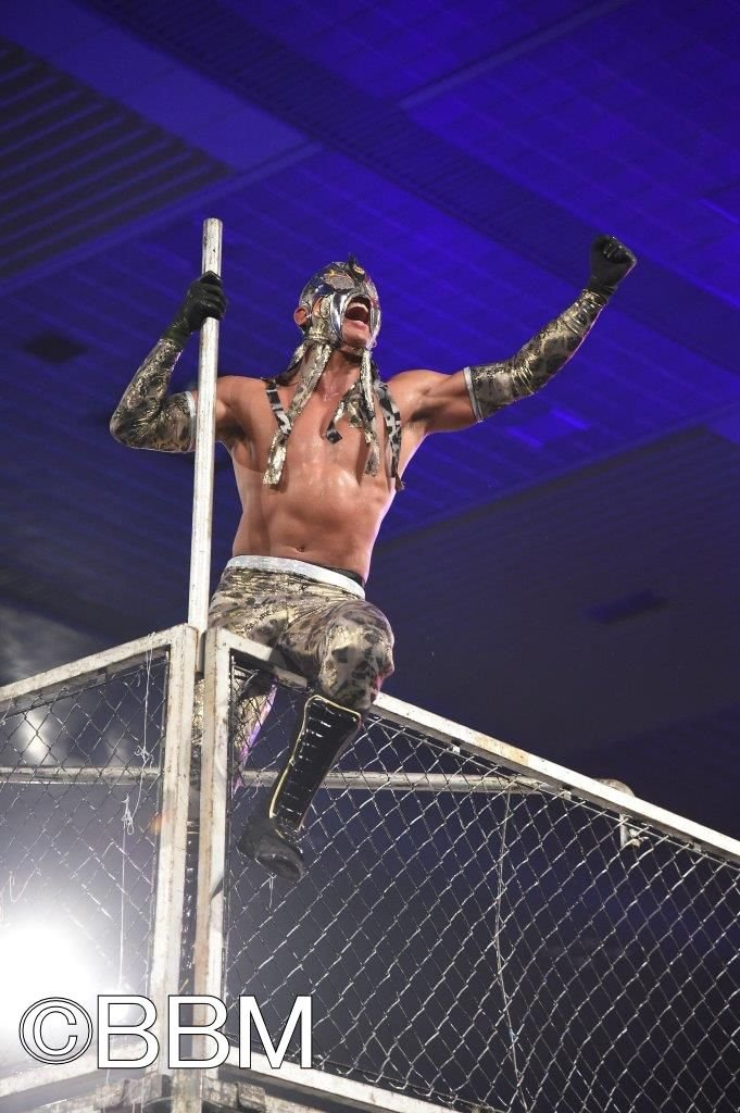 "Dragon Gate: ""Dead or Alive 2019"" R.E.D. traiciona a Ben-K 8"