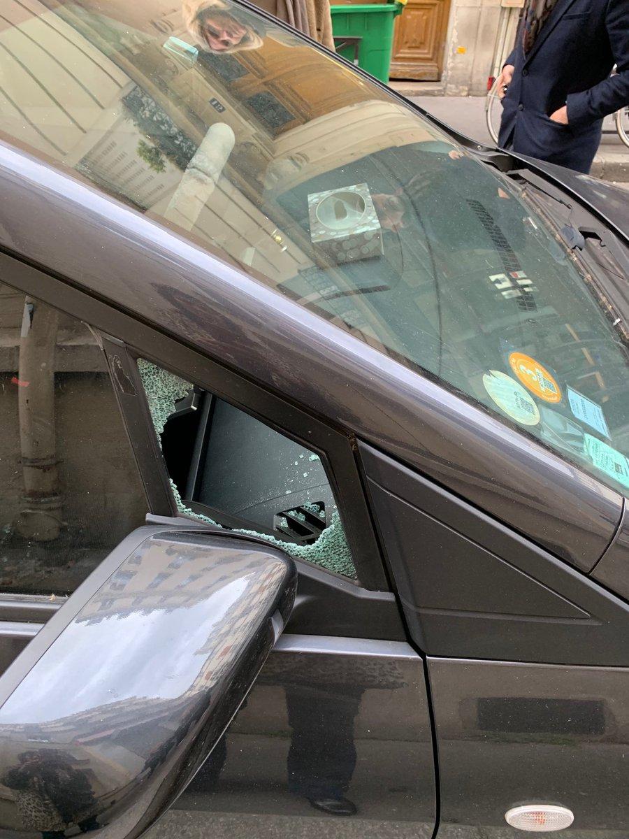 Je voudrais féliciter la perversité de la personne qui a trouvé malin et sans doute très drôle de fracasser ma voiture pour voler le macaron handicapé de mon fils #indignation #honteavous #betise