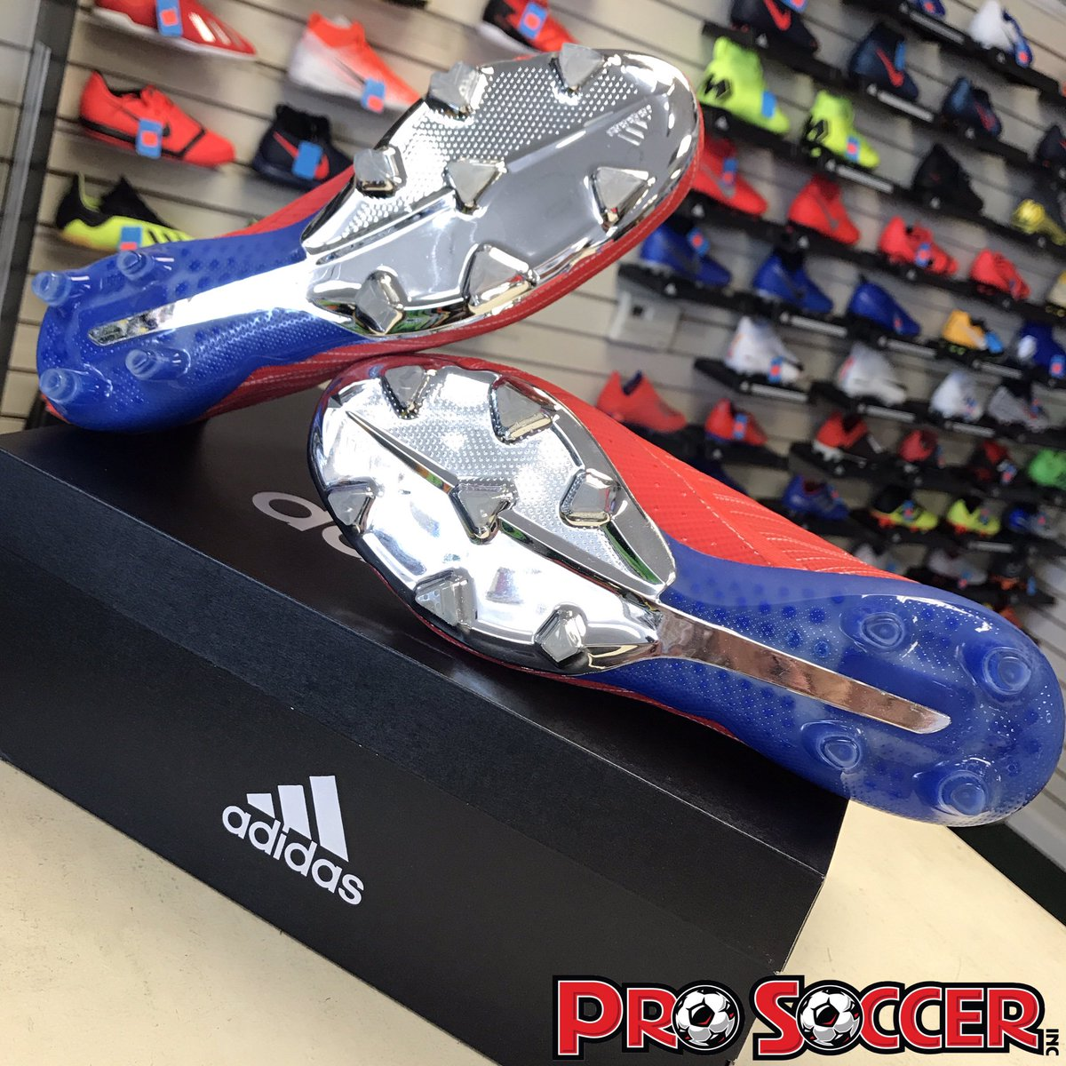 290ea1349 Today is the last day of our Club Tryout Weekend Sale! These  Adidas X 18+  cleats are 20% off the regular price at Pro Soccer Inc. 6929 N Willow Ave  Ste.