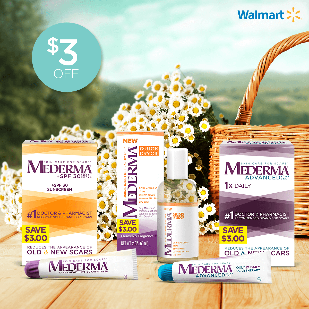 Mederma On Twitter Take 3 Off Select Mederma Scar Products At