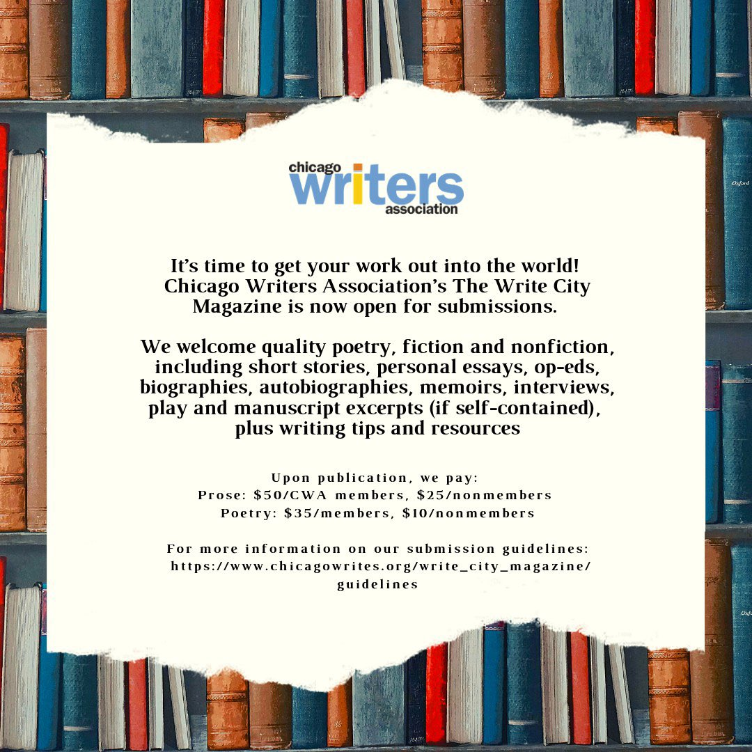 Chicago Writers Assn (@chicagowrites) | Twitter