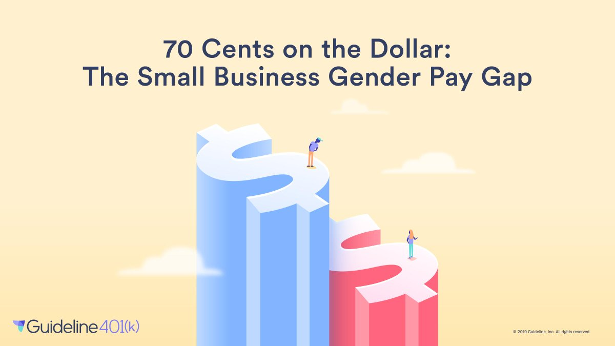ed00eced In honor of #SmallBusinessWeek, today we're exposing what the gender pay  gap looks like at small businesses: http://bit.ly/2WteYjY pic.twitter.com/  ...
